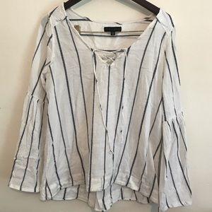 Cotton peasant blouse